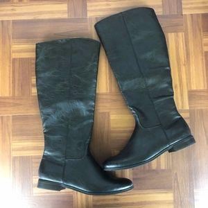 MIA GIRL HERRITAGE Women's Black Riding Boots